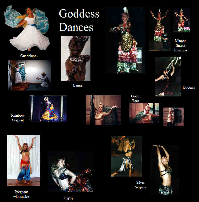 Goddess Dances by Le'ema Kathleen Graham